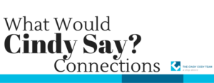 What Would Cindy Say Connections