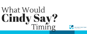 WWCS: timing in real estate