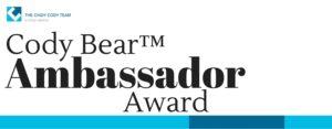 Cody Bear™ Ambassador Award
