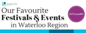 The best events in Waterloo Region