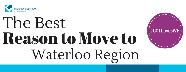 Reasons to move to waterloo region
