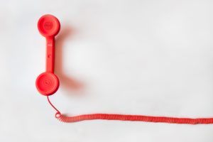 Let me connect you | Cindy Cody cross Canada referrals, red telephone