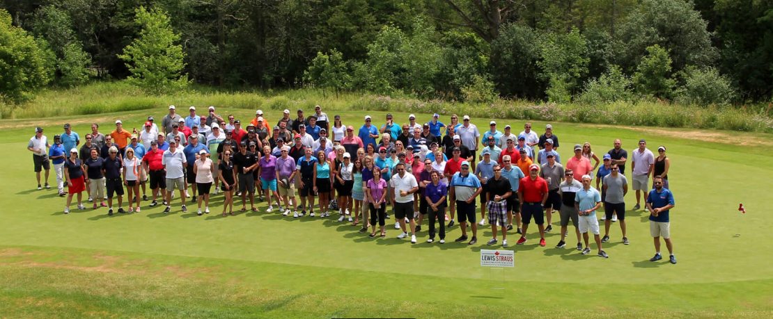 Buy, Sell or Renovate Charity Golf Classic group picture, golf course