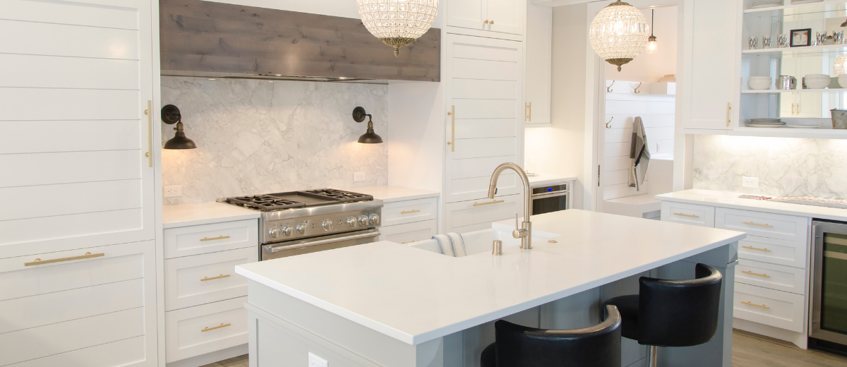 Home Renovations With The Best Return On Investment; Modern White Kitchen