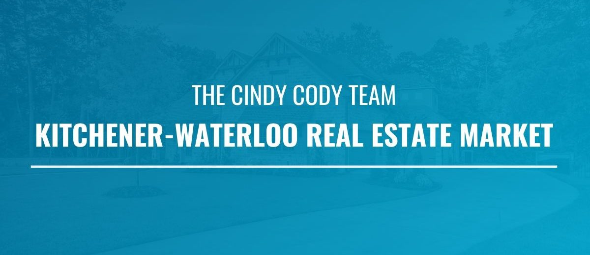 Cindy Cody Kitchener-Waterloo Real Estate Market Udate